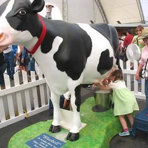 Подои корову