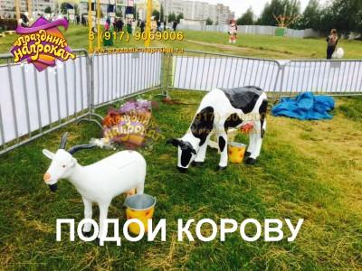 Подои корову мини - аттракцион